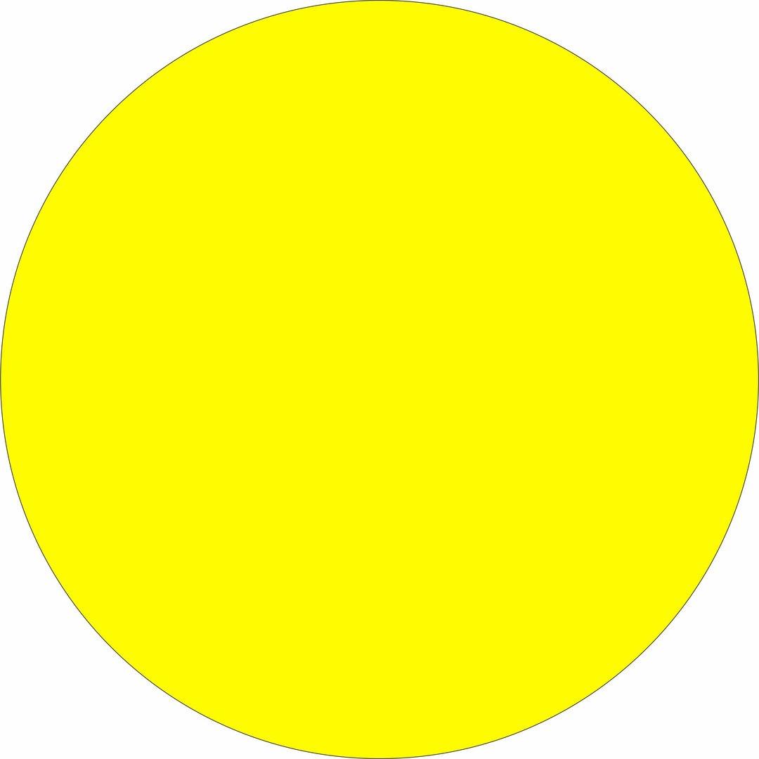 etiketten 30er kreise leucht gelb abtifa etikettiersysteme gmbh. Black Bedroom Furniture Sets. Home Design Ideas